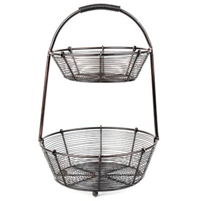 Mesa Bobbin Collection 2-Tier Basket