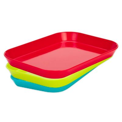 Zak! Designs® Mini-Serving Tray in Red