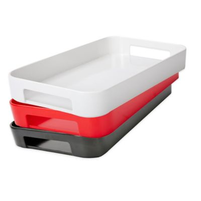 Zak!Designs® Gallery Serving Tray in Red