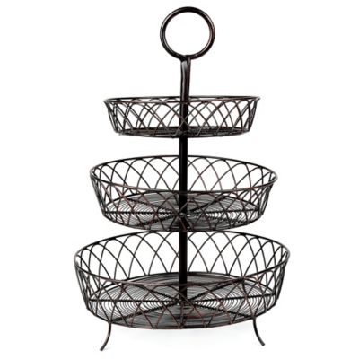 Mesa Emma Collection 3-Tier Basket