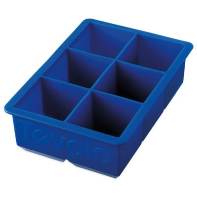 Tovolo® King Cube Silicone Ice Tray in Stratus Blue
