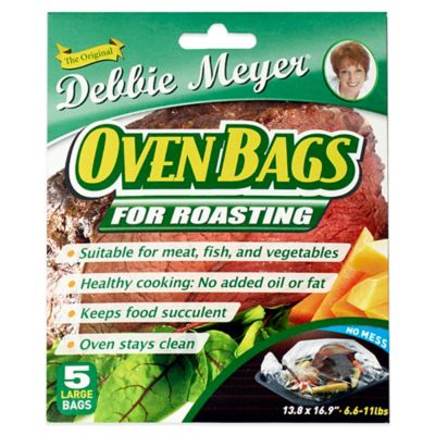 Debbie Meyer® Large Oven Bags (Set of 5)