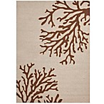 Jaipur Grant Design Bough Out Indoor/Outdoor Rug in Ivory/Brown
