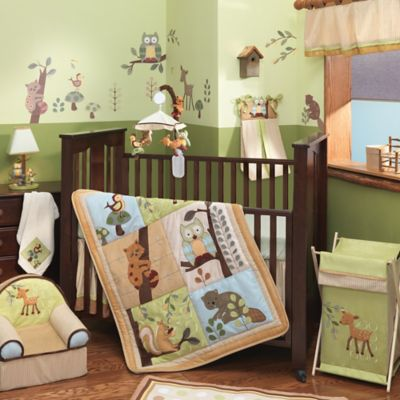 Lambs & Ivy® Enchanted Forest 5-Piece Crib Bedding Set