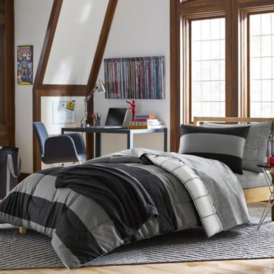 Black Dorm Bedding