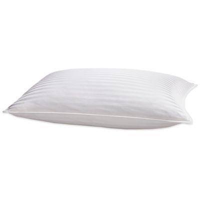 Palais Royale™ Seasons Collection® Pinnacle Goose Down Back Sleeper Standard Pillow in White