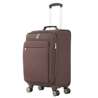 BMW 20-Inch Carry-On Spinner in Brown