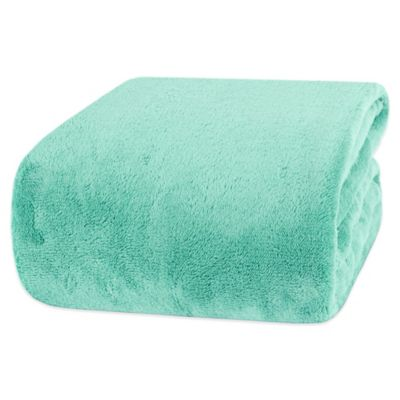Aqua Twin Blanket