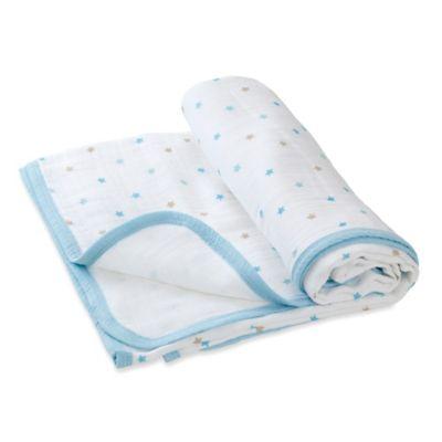 "aden® by aden + anais® ""Oh Boy!"" Muslin Stroller Blanket"