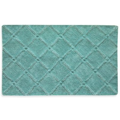 Gray Cotton Bath Rugs