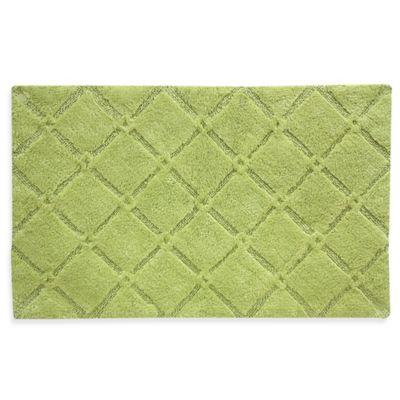 Celery Green Bath Rugs