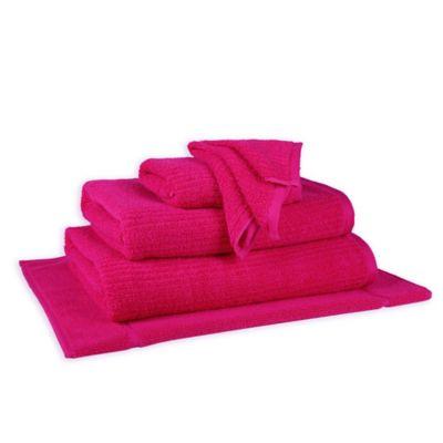 Hot Pink Bath Towels