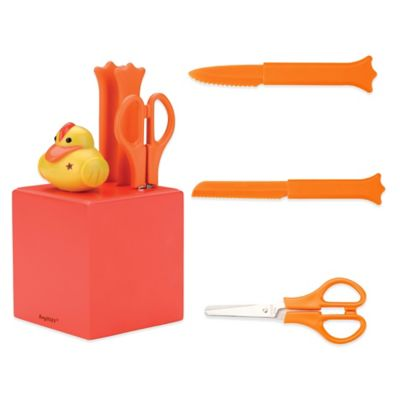 BergHOFF® Sheriff Duck 4-Piece Knife Block Set