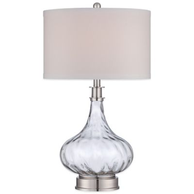 Brushed Nickel Table Lamps Contemporary