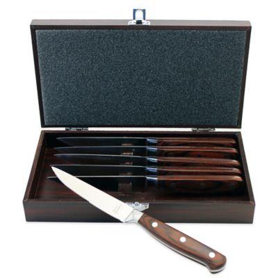 BergHOFF® Pakka Steak Knife with Case (Set of 6)