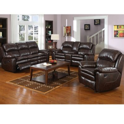 Pulaski Dillon Recliner Sofa in Dark Brown