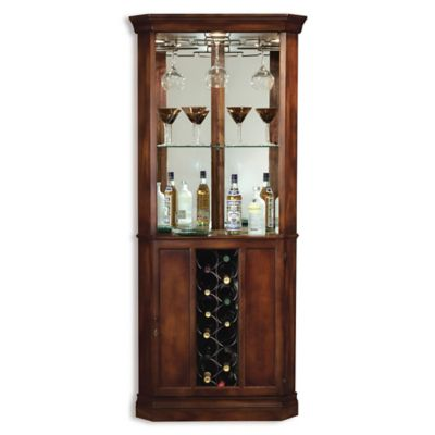 Howard Miller Piedmont Wine & Bar Cabinet in Rustic Cherry