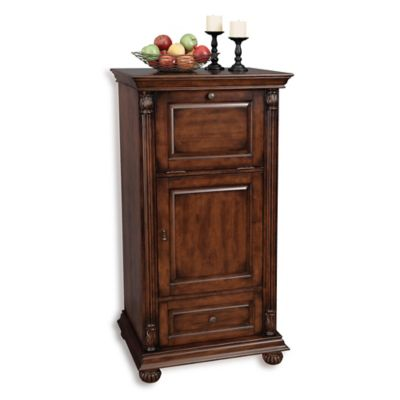 Howard Miller Cognac Wine & Bar Cabinet in Hampton Cherry