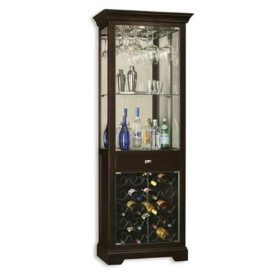 Howard Miller Gimlet Wine & Bar Cabinet in Black Coffee