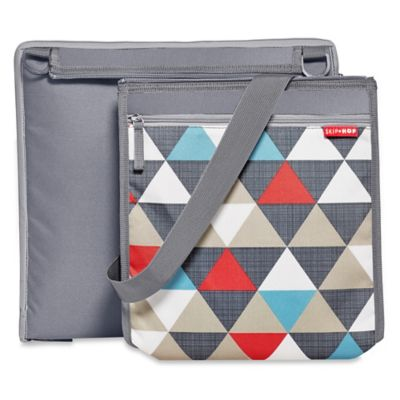 SKIP*HOP® Central Park Outdoor Blanket & Cooler Bag in Triangles Print
