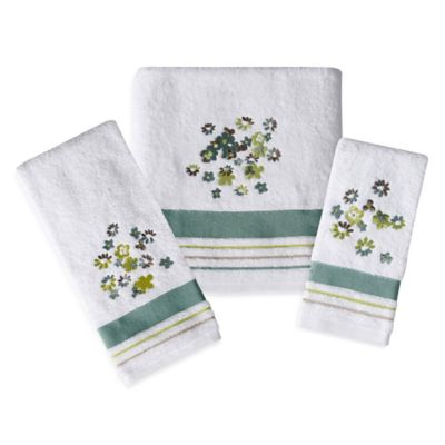Flowers Towels Collection