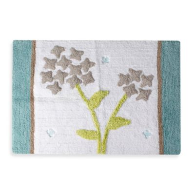 Flower Bed Bath Rug