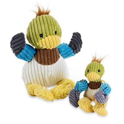 HuggleHounds Knotties Mini Duck Dog Toy