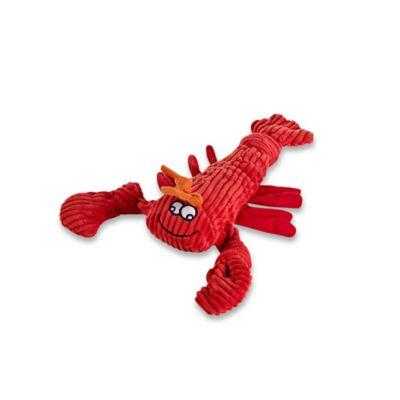 HuggleHounds Knotties Mini Lobster Dog Toy