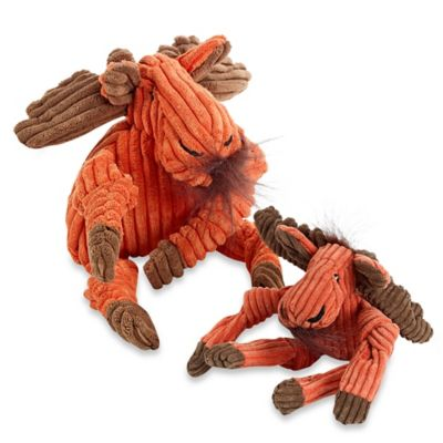 HuggleHounds Knotties Large Moose Dog Toy