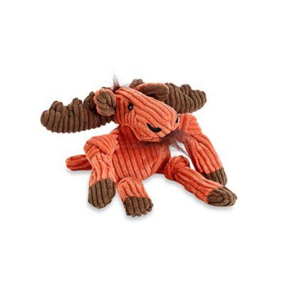 HuggleHounds Knotties Mini Moose Dog Toy