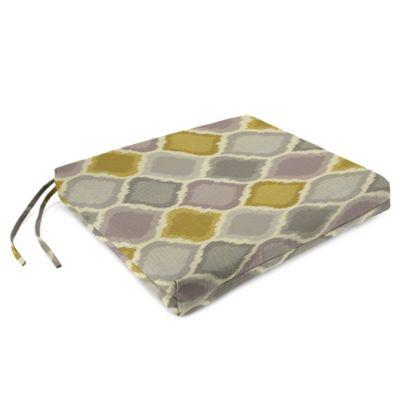 Sunbrella® French Edge Chair Cushions in Empire Dawn (Set of 2)