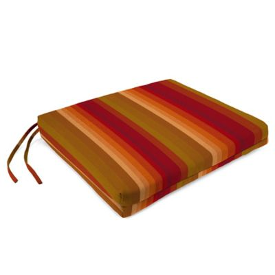 Sunbrella® French Edge Chair Cushions in Astoria Sunset (Set of 2)