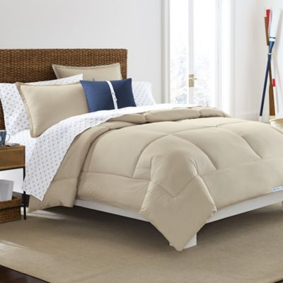 Southern Tide Solid Twin Comforter in Sand
