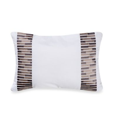 Real Simple® Lattice Breakfast Throw Pillow in White