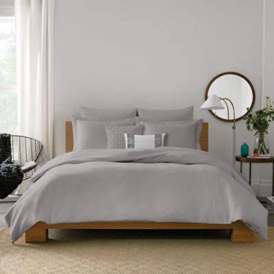 Real Simple® Lattice King Pillow Sham in Grey