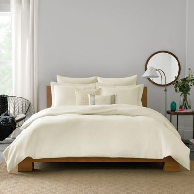 Real Simple® Lattice Full/Queen Duvet Cover in Blue