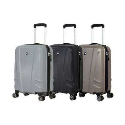 BMW 19-Inch Hardside 8-Wheel Carry-On Spinner in Champagne