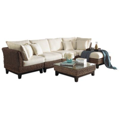 Panama Jack Sanibel 6-Piece Sectional Set