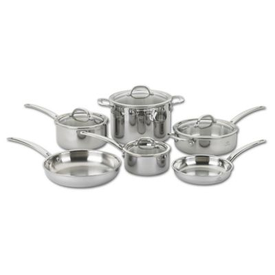 Lenox® Performance Series 10-Piece Tri-Ply Cookware Set