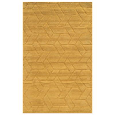 Rizzy Home Technique Braid 2-Foot x 3-Foot Area Rug in Green