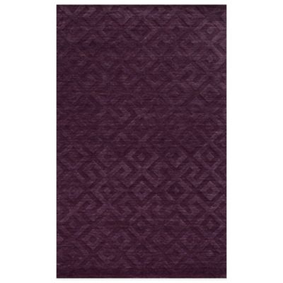 Rizzy Home Technique Greek 8-Foot x 10-Foot Area Rug in Red