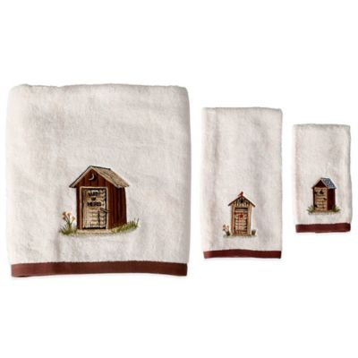 Outhouses Hand Towel