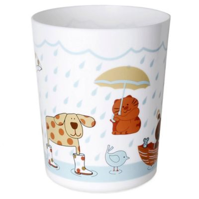 Raining Cats and Dogs Wastebasket