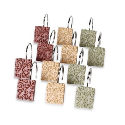 Inspire Shower Curtain Hooks (Set of 12)