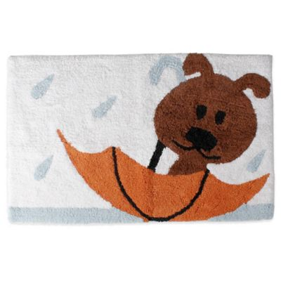 Raining Cats and Dogs Bath Rug