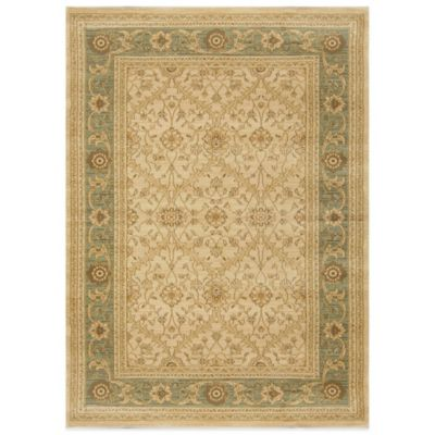 Antiqua Heat Set 5-Foot 3-Inch x 7-Foot 2-Inch Area Rug in Beige