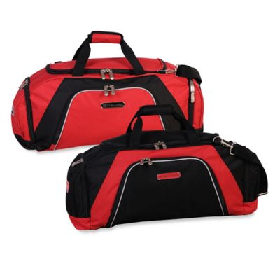 Swiss Cargo® Rhine 26-Inch Duffle in Red/Black