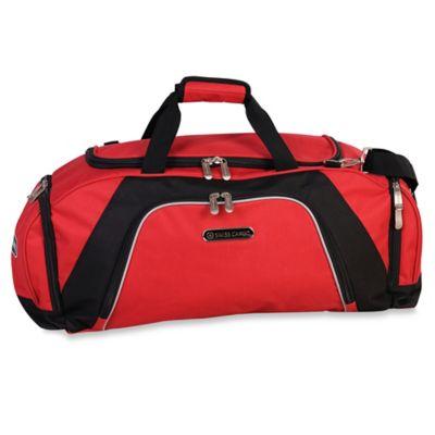 Swiss Cargo® Rhine 26-Inch Duffle in Red/Black