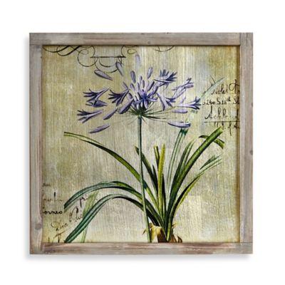 Floral Foil 2 Mirror Frame