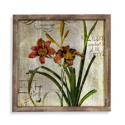 Floral Foil 1 Mirror Frame